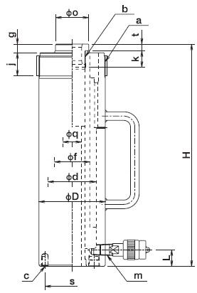 kich thuy luc osaka ec30s15, con doi thuy luc osaka ec30s15, osaka hydraulic jack ec30s15